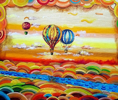 Fly high with your dream by Radosveta Zhelyazkova