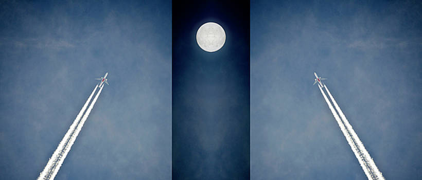Fly me to the moon by Leopold Brix