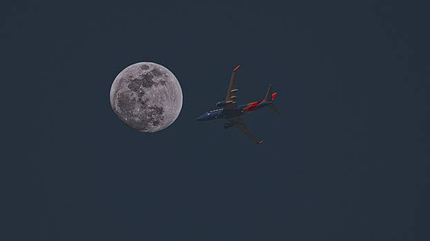 Fly Me To The Moon by Philip A Swiderski Jr