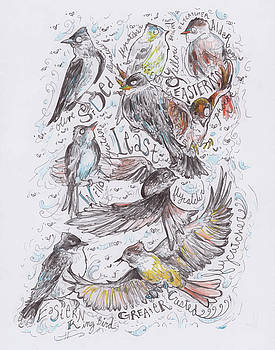 Flycatchers by Hannah Dean