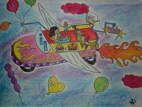 Flying by Aditi Laddha