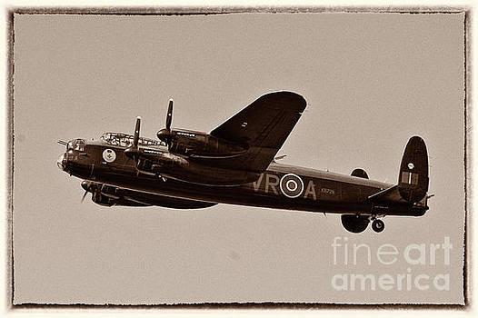 Flying Avro Lancaster Bomber - Vera by Robert McAlpine