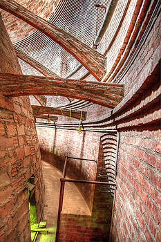 Flying Buttresses In The Dome 1  by Newman Artography