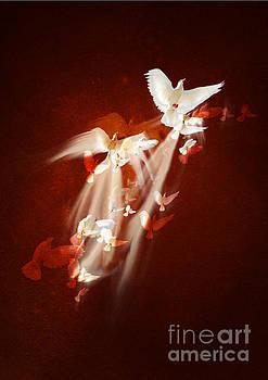 Flying doves by Sonya Staneva