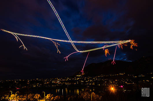 Flying Fireworks by Benjamin Weilert