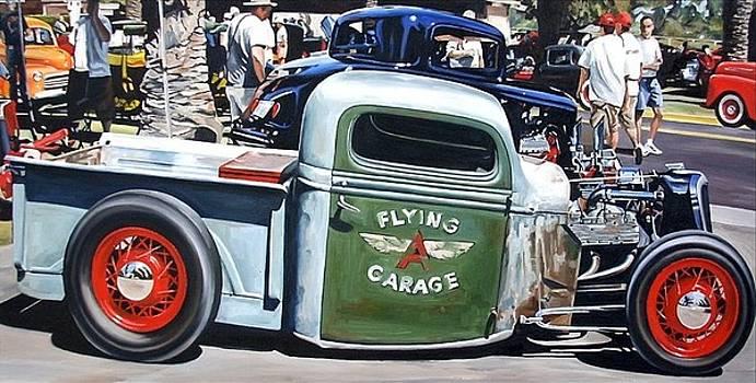 Flying Garage by Ruben Duran