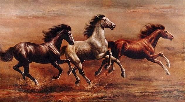 Flying Horse by Yuki Othsuka