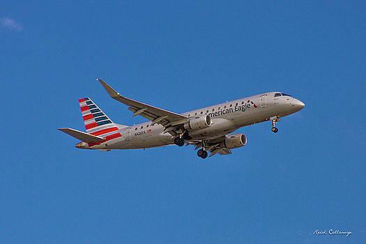 Reid Callaway - Flying In American Eagle Embraer 175 N426YX