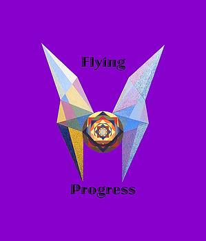 Flying Progress text by Michael Bellon