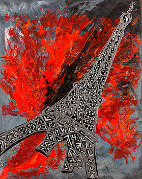 Flying To Paris by Sheila McPhee