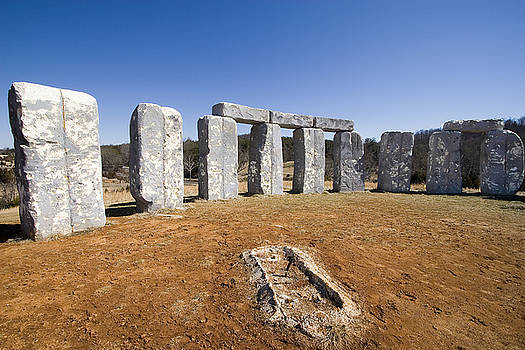 Foamhenge by Tom McElvy