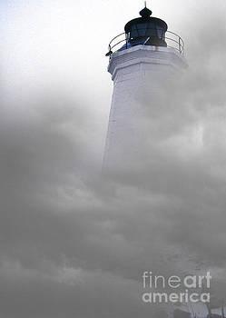 Skip Willits - FOG AT NEW HAVEN LIGHT
