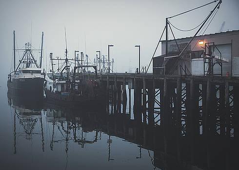 Fog Before Sunrise #2 by Bob Orsillo