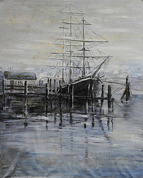 Fog Bound at Tillamok by John W Walker