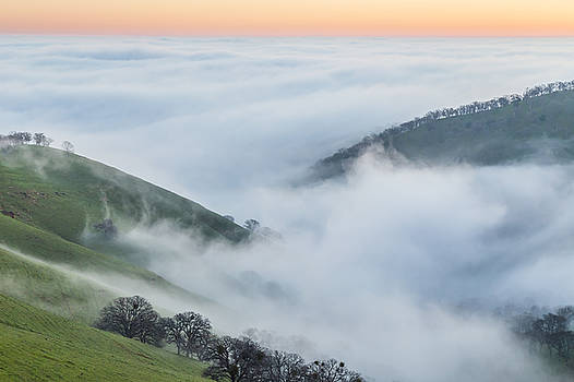 Marc Crumpler - fog covered valley