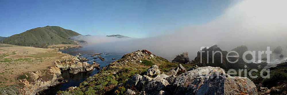 Fog creeping over Rocky Point July 2011 by California Views Mr Pat Hathaway Archives