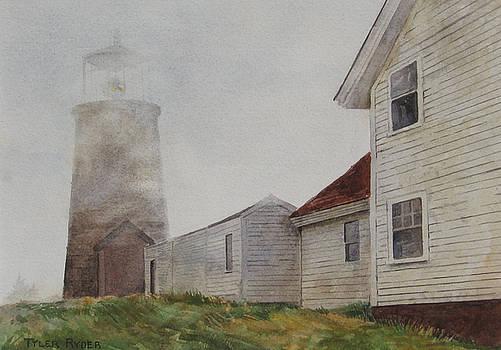 Fog on Monhegan by Tyler Ryder