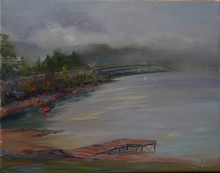 Fog On The Bridge by Jill Holt