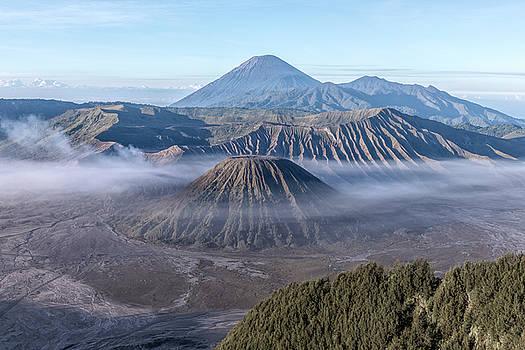 fog over Mount Bromo - Java by Joana Kruse