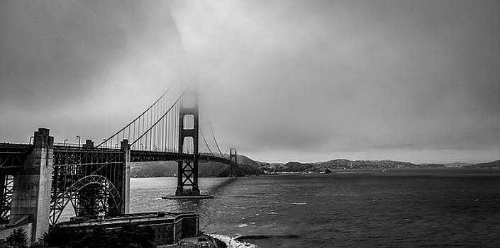 Fog Over The Golden Gate Bridge by Ant Pruitt