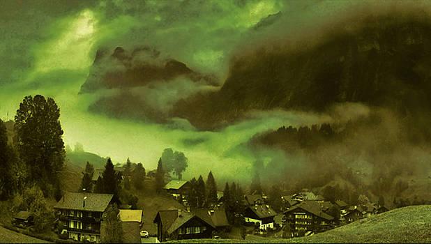 Fog Over the Village by Mario Carini