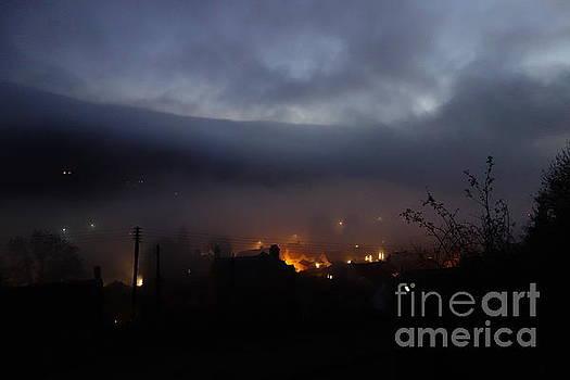 Fog rolls in at dusk by C Lythgo