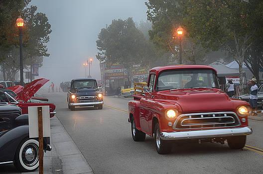 Foggy Arrival by Bill Dutting