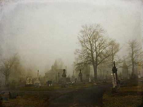 Foggy Churchyard   by Gothicrow Images