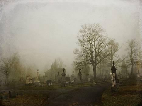 Gothicrow Images - Foggy Churchyard