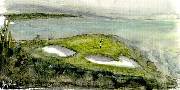 Foggy Cliffs by Dave Baysden