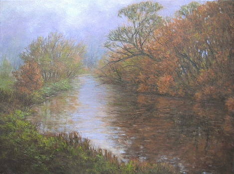 Foggy Creek by Stephen Howell