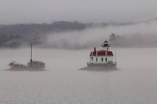 Foggy Evening on the Hudson II by Jeff Severson