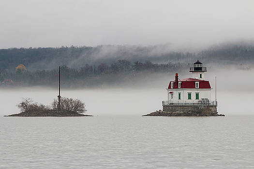 Foggy Evening on the Hudson by Jeff Severson
