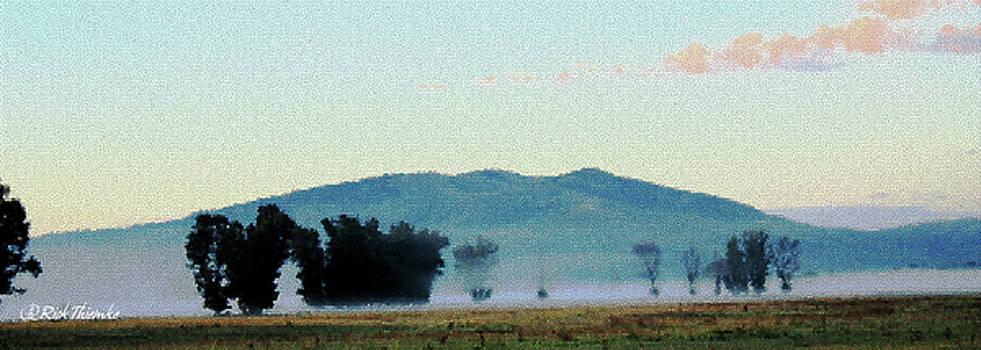 Foggy Field by Rick Thiemke