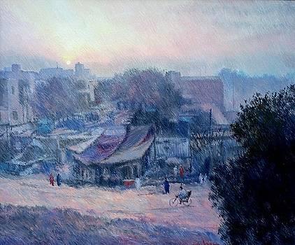 Foggy morning by Abid Khan