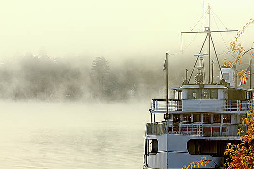 Foggy Morning Cruise by Brian Pflanz