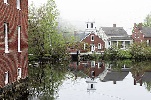 Foggy Morning, Harrisville by New England Photographic