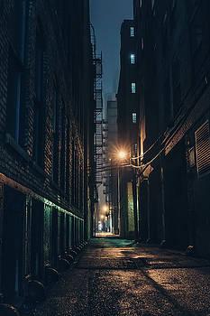 Foggy Night Chicago by Nisah Cheatham