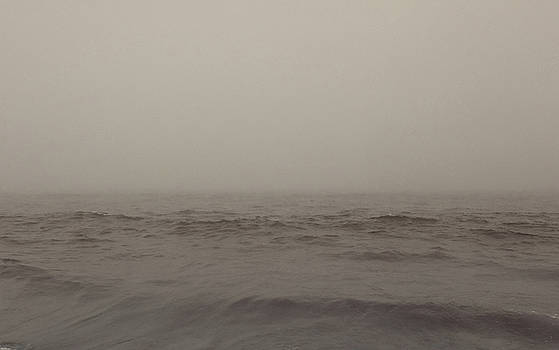 Foggy Ocean by Mary Capriole