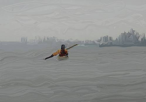 Foggy Paddle by Harry Spitz