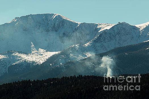 Steve Krull - Foggy Pikes Peak
