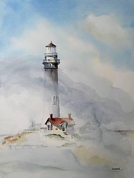 Foggy Point by Richard Zunkel