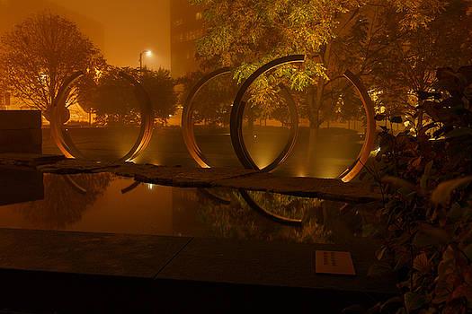 Foggy Rings by Allen Ahner