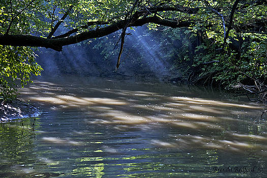 Foggy River by Brenda Redford