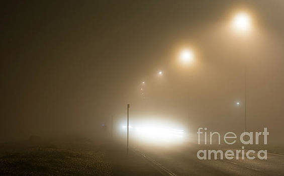 Foggy Road by Geoff Smith
