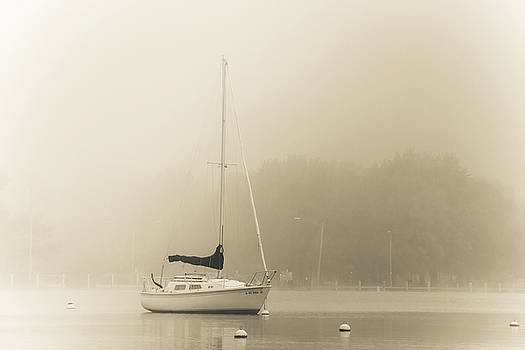 Foggy Sail by Joel Witmeyer