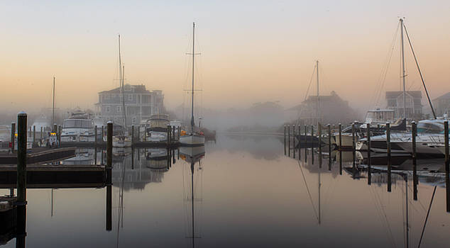Foggy St James Morning Twilight by Nick Noble