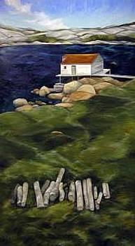 Fogo Newfoundland by Lisa Graziotto