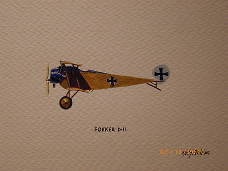 Fokker D2 by Keith Hutchins
