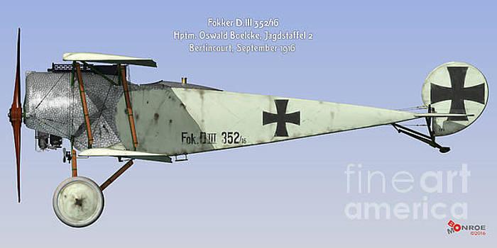 Fokker D.III Boelcke by Bo Monroe